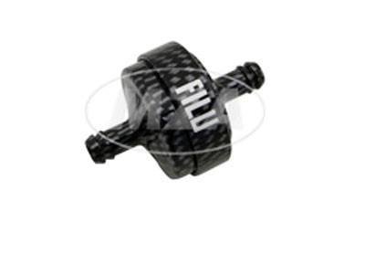 Benzinfilter FILU Alu carbon Motorrad