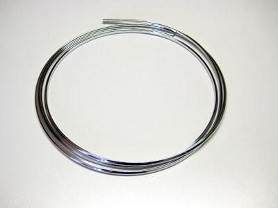 Kantenschutz 3 Meter Chrom Optik