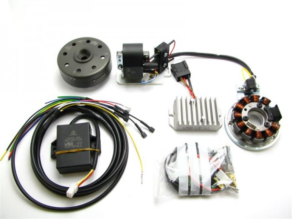 Lichtmagnetzündanlage passend für AWO425 Touren/Sport 12V 150W vollelektronisch
