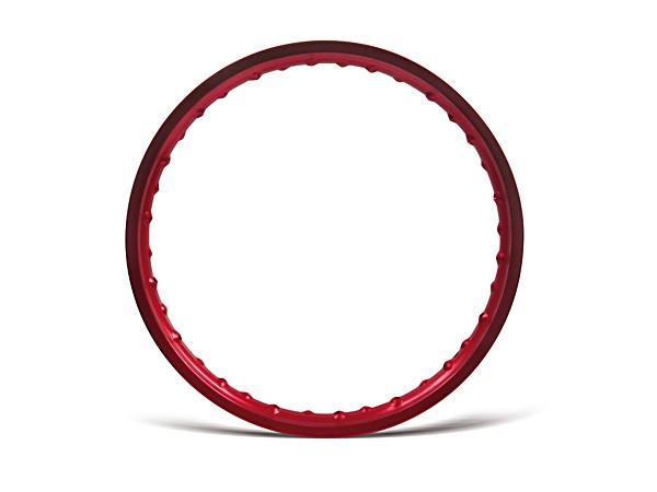 Felge 1,5x16 Aluminium rot eloxiert