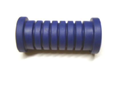 Fußrastengummi blau