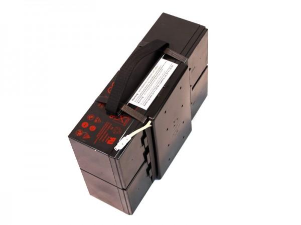 Batterieblock Charly II Stecker weiß