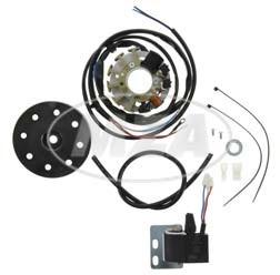 Lichtmagnetzündanlage 6V 18W Wechselstrom für MAW Hilfsmotor